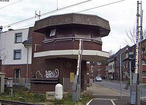 Geilenkirchen station - Geilenkirchen signal box
