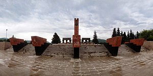 Stepanakert, Monument to fallen in WWII, 2014.05.11 - panoramio.jpg