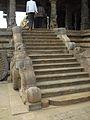 Steps in Chariot style mandapa, Airavatesvara Temple, Dharasuram.jpg