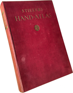<i>Stielers Handatlas</i> German world atlas
