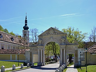 Heiligenkreuz, Lower Austria - Monastery gate