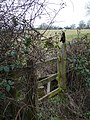 Stile on Hinger Hill - geograph.org.uk - 1157844.jpg