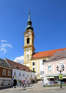 Stockerau Place in Lower Austria, Austria