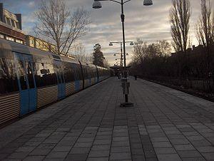 Blåsut metro station