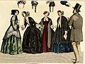 Stockholms mode-journal- Tidskrift för den eleganta werlden 1851, illustration nr 6.jpg
