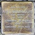 Stolperstein Bleibtreustr 33 (Charl) Alice Abrahamsohn.jpg