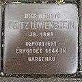 Stolperstein Bocholt Hemdener Weg 11 Fritz Löwenstein.jpg