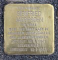 Stolperstein Dietzgenstr 20 (Nieds) Siegfried Jacobsohn.jpg