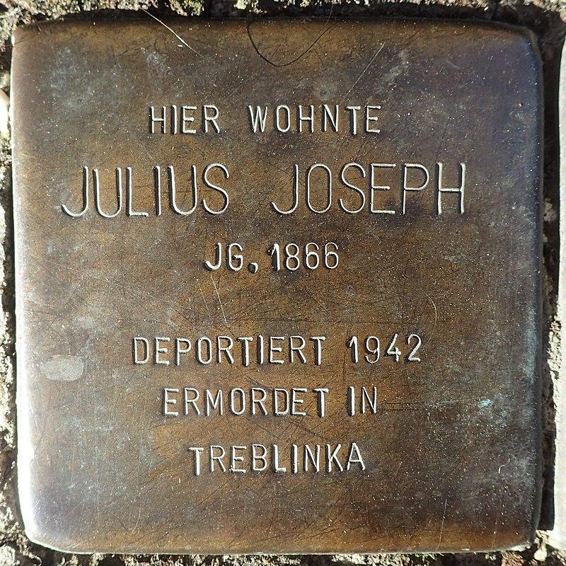 Stolperstein für Julius Joseph
