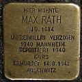 Stolperstein Geldern Bahnhofstraße 9 Max Rath.jpg