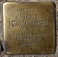 Stolperstein Hobrechtstr 57 (Neuk) Käthe F Pestachowski.jpg