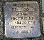 Stolperstein Radebeul Marion Freund.JPG