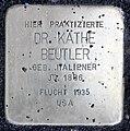 Stolperstein Theodor-Heuss-Platz 2 (Westend) Käthe Beutler.jpg