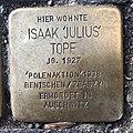 Stolperstein für Isaak Topf in Hannover.jpg