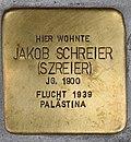 Stolperstein für Jakob Schreier 2018 (Graz).jpg