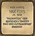 Stolperstein für Max Fuks (Cottbus).jpg