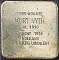 Stolpersteine Kalkar Grabenstraße 72; Kurt Vyth.jpg