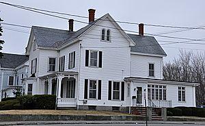 Onslow Gilmore House - Image: Stoneham MA Onslow Gilmore House