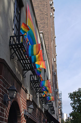 Homophile - Stonewall Inn, Greenwich Village is now a National Historical Landmark