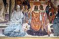 Storie di s. benedetto, 33 sodoma - Come Benedetto scomunica due religiose e le assolve poi che furono morte 06.JPG
