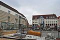 Stralsund, Ossenreyerstraße, Ecke Heilgeiststraße, Rathausplatz (2012-03-18) 1, by Klugschnacker in Wikipedia.jpg