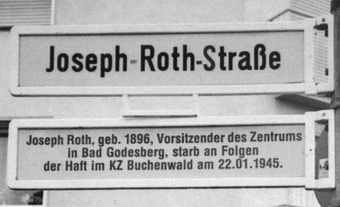 Joseph Roth, geb. 1896, Vorsitzender des Zentrums in Bad Godesberg, starb an Folgen der Haft im KZ Buchenwald am 22.01.1945.
