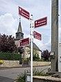 Strassenschilder in Michelbouch 01.jpg