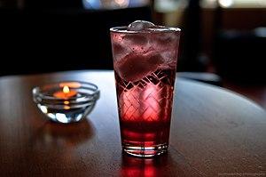 Italian soda - Strawberry Italian soda