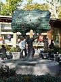 Street, apple-tree sculpture at Clark's Shopping Village - geograph.org.uk - 1555924.jpg