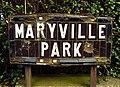 Street sign, Maryville Park - geograph.org.uk - 1119517.jpg