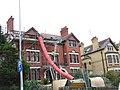 Stripping a roof in Ffordd y Gogledd - geograph.org.uk - 282747.jpg