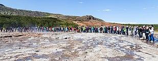 Strokkur, Área geotérmica de Geysir, Suðurland, Islandia, 2014-08-16, DD 111.JPG