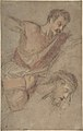 Studies for a Scourging Soldier and the Head of Christ MET DP801271.jpg