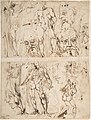 Studies of Nudes and Human Heads (recto and on the verso). MET DP808284.jpg