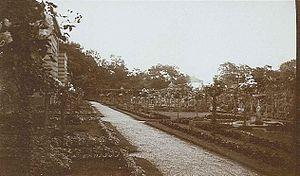 Wilhelma - Gardens of Wilhelma circa 1912