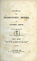 Styffe, Bidrag till Skandinaviens historia ur utländska arkiver 1a del (1859) titelblad.jpg