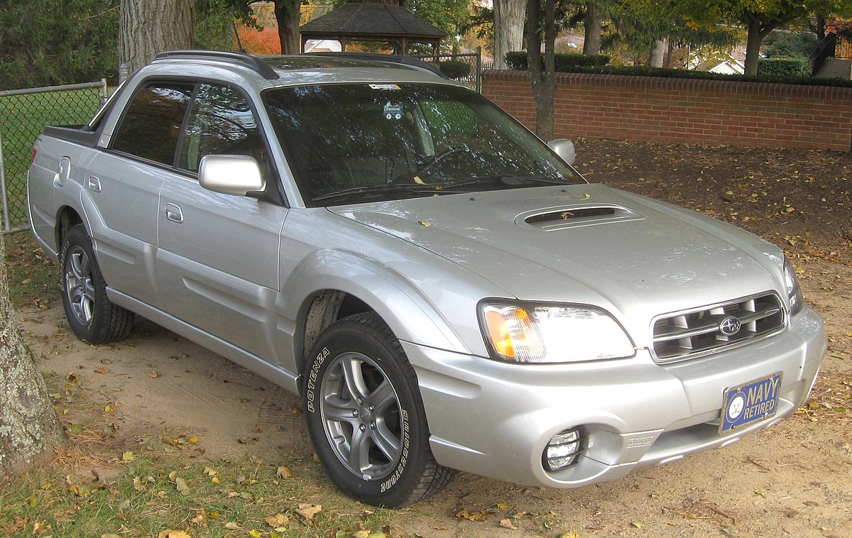 Subaru Baja Wikipedia 2007 Forester Engine Diagram