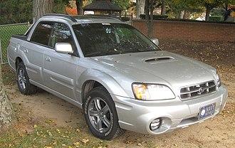 Subaru Baja - Image: Subaru Baja Turbo