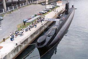 Brazilian submarine Riachuelo (S22) - Image: Submarino Museu Riachuelo 5