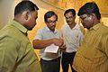 Subrata Sen Checking Gallery Handover Documents - Gandhi Memorial Museum - Barrackpore - Kolkata 2017-03-31 1304.JPG