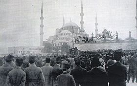 Istanbul, May 23, 1919: Protests against the occupation