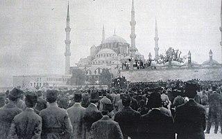 Sultanahmet demonstrations