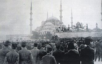 Occupation of Constantinople - Constantinople, May 23, 1919: Protests against the occupation