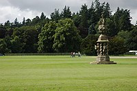 Sundial at Glamis Castle - geograph.org.uk - 918201.jpg