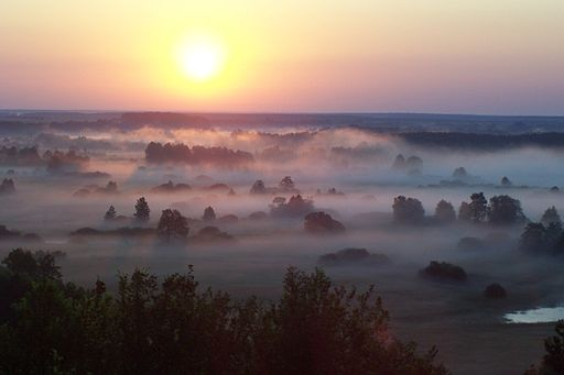 Sunrise at Sednev (Ukraine)