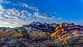 Sunrise at Vasquez Rocks Nature Area (16000599149).jpg
