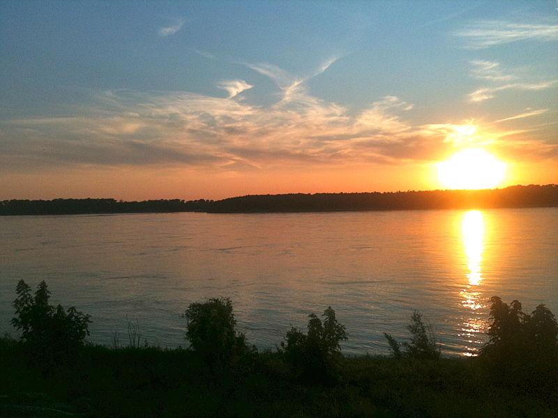 File:Sunset on Mud Island Aug 27 2011.jpg