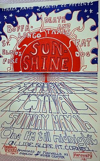 Slope Day - Sunshine Memorial Festival, May 16, 1971