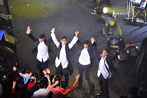 Superband (band) - Image: Superband Taiwan