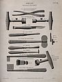 Surgical instruments for trepanning, including Mr. Hey's lar Wellcome V0016362.jpg